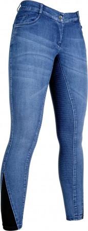 Pantalones  de  montar  -Denim-  culera  full  s.