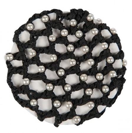Frontal  con  perlas  de  imitación