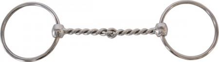 Filete anillas embocadura retorcida 255334 12.5