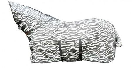 Manta  anti-moscas  con  cuello  -Zebra-  con  cinturó