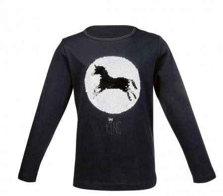 Camiseta  manga  larga  -Romeo  Wendepailletten-
