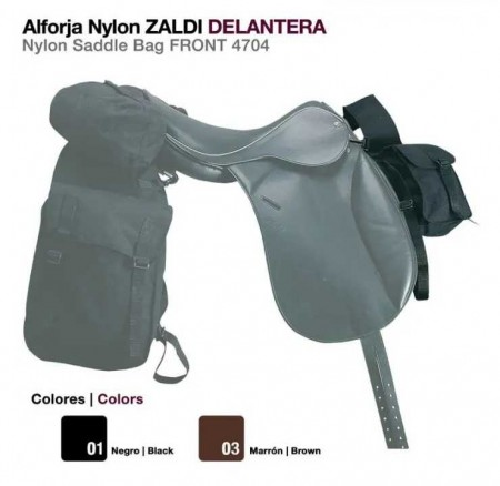 ALFORJA NYLON ZALDI DELANTERA 4704