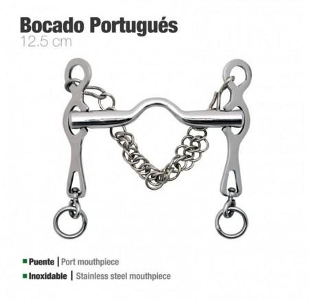 Zaldi Bocado Portugués Inox Rocio