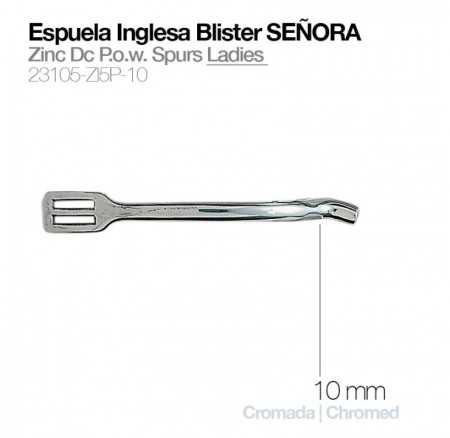 Zaldi Espuela Inglesa Blister Señora 10mm