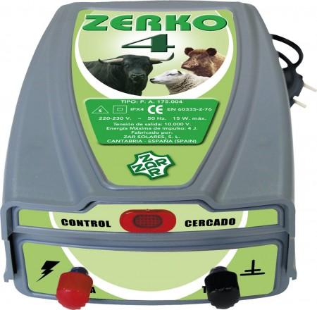 Pastor eléctrico Zerko-Red. 4 Julios de potencia