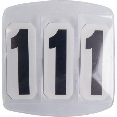 Números para torneos 3 dígitos con velcro