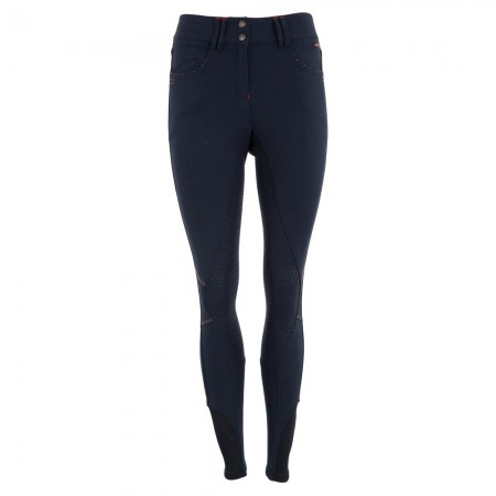Pantalones de montar mujer Foxglove culera silicona