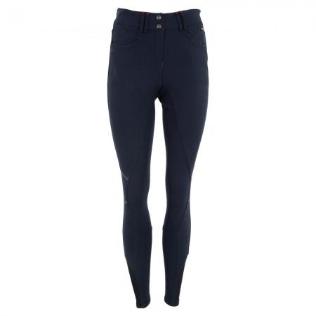 Pantalones de montar mujer Foxglove rodilleras silicona