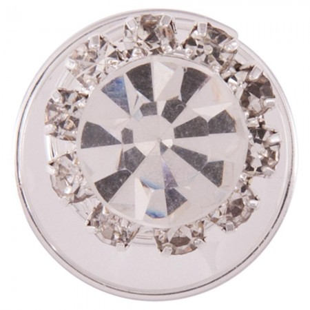 Espiral moño BR Crystal 1,2 cm. set 5u.