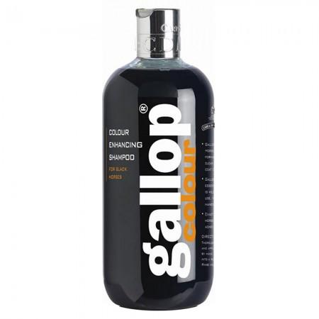 Champú CDM Gallop para capa negra 500 ml.