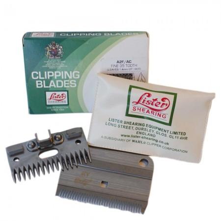 Cuchillas para Lister WLO258-11850 fina