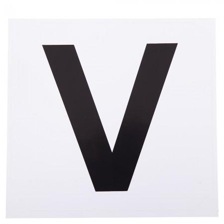 Adhesivos para letras Premiere pista: R-V-P-S