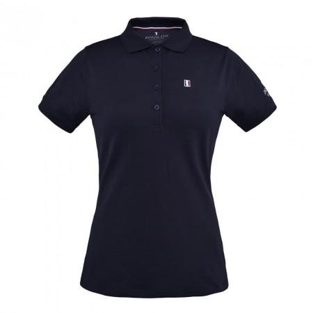 Camisa Polo Piqué de manga corta para mujer.