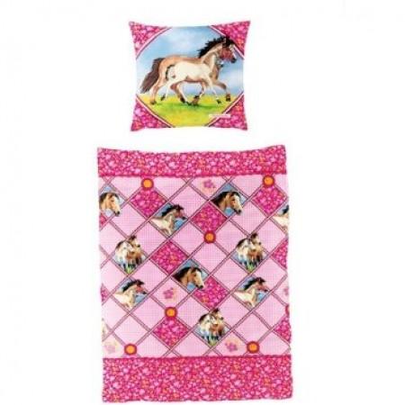 Ropa de cama con dibujos de caballos