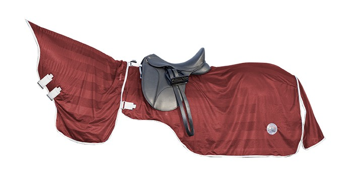 Manta-on  fly  sheet-  con  cuello  extraible