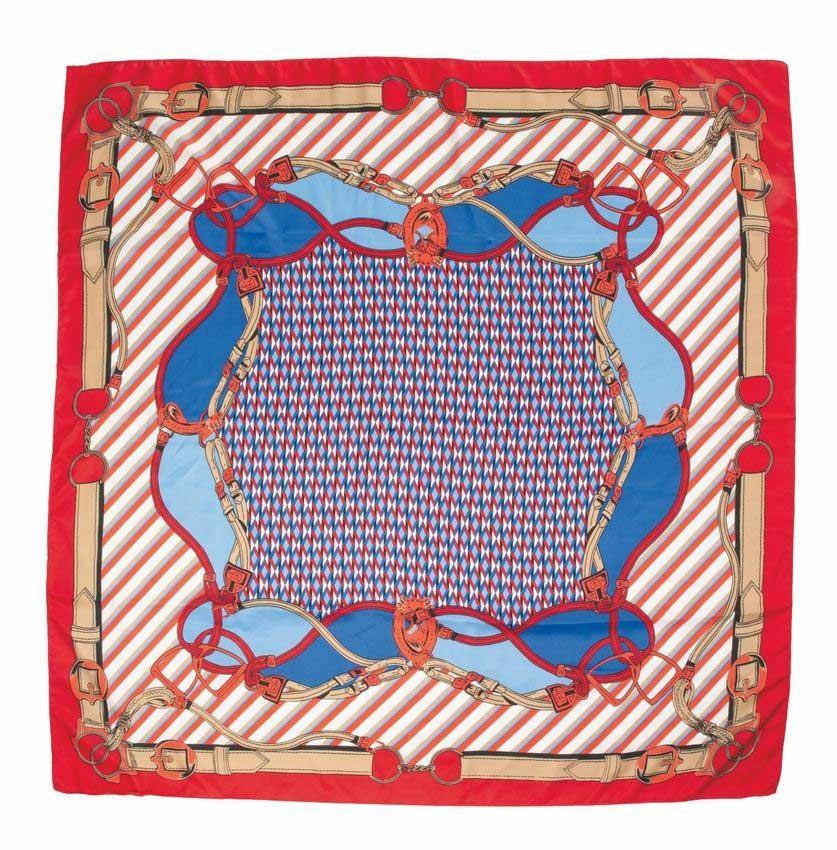 Pañuelo, 90 x 90 cm
