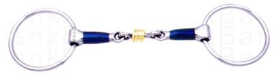 Filete anillas embocadura tubular bbi inox 12.5