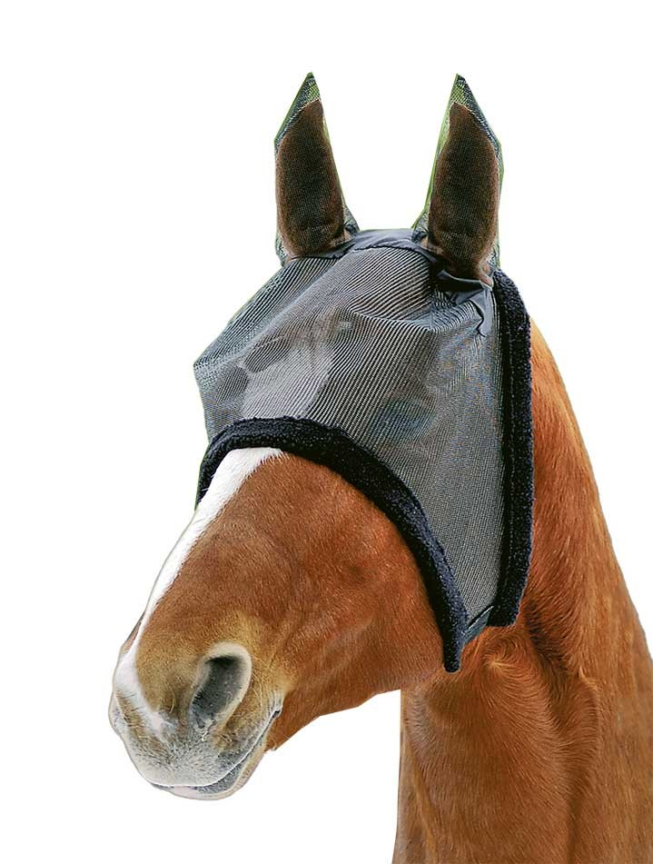 Protector  anti-moscas  con  orejeras