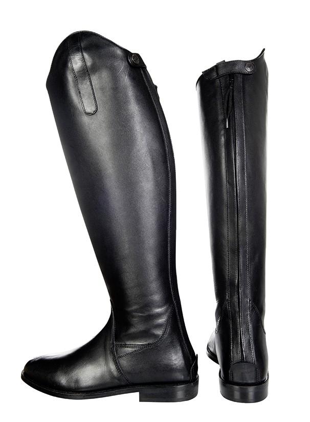 Botas de montar -Italy-, cuero suave, talla normal