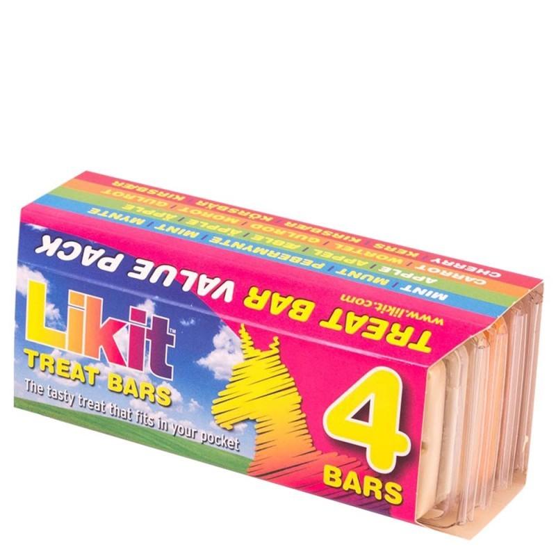 Barritas Likit Treat Bar Pack de 4.