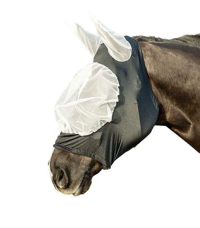 Máscara anti moscas-extra suave y elástica-