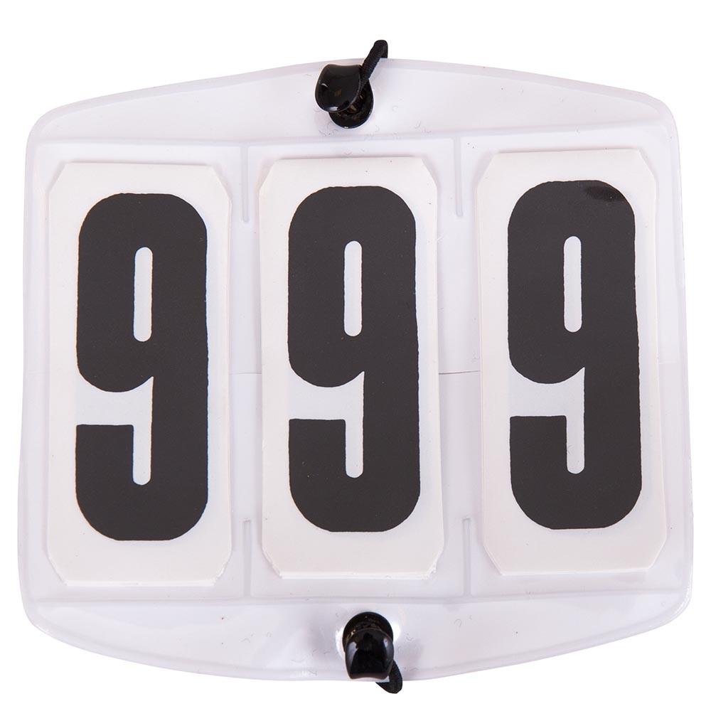 Número de orden de salida del 000 al 999 cuadrado