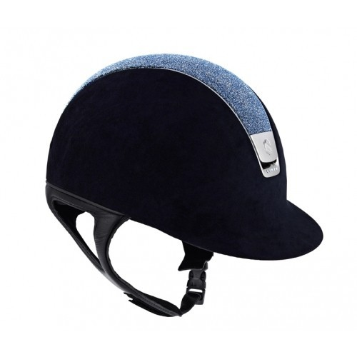 Casco de equitación Samshield Premium Crystal Fabrics