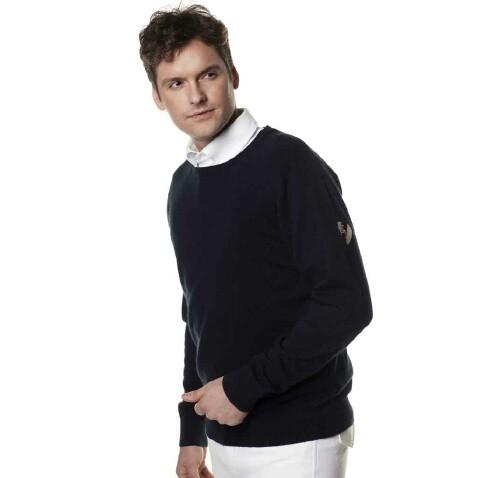 Kingsland Suéter de Algodón-Hombre
