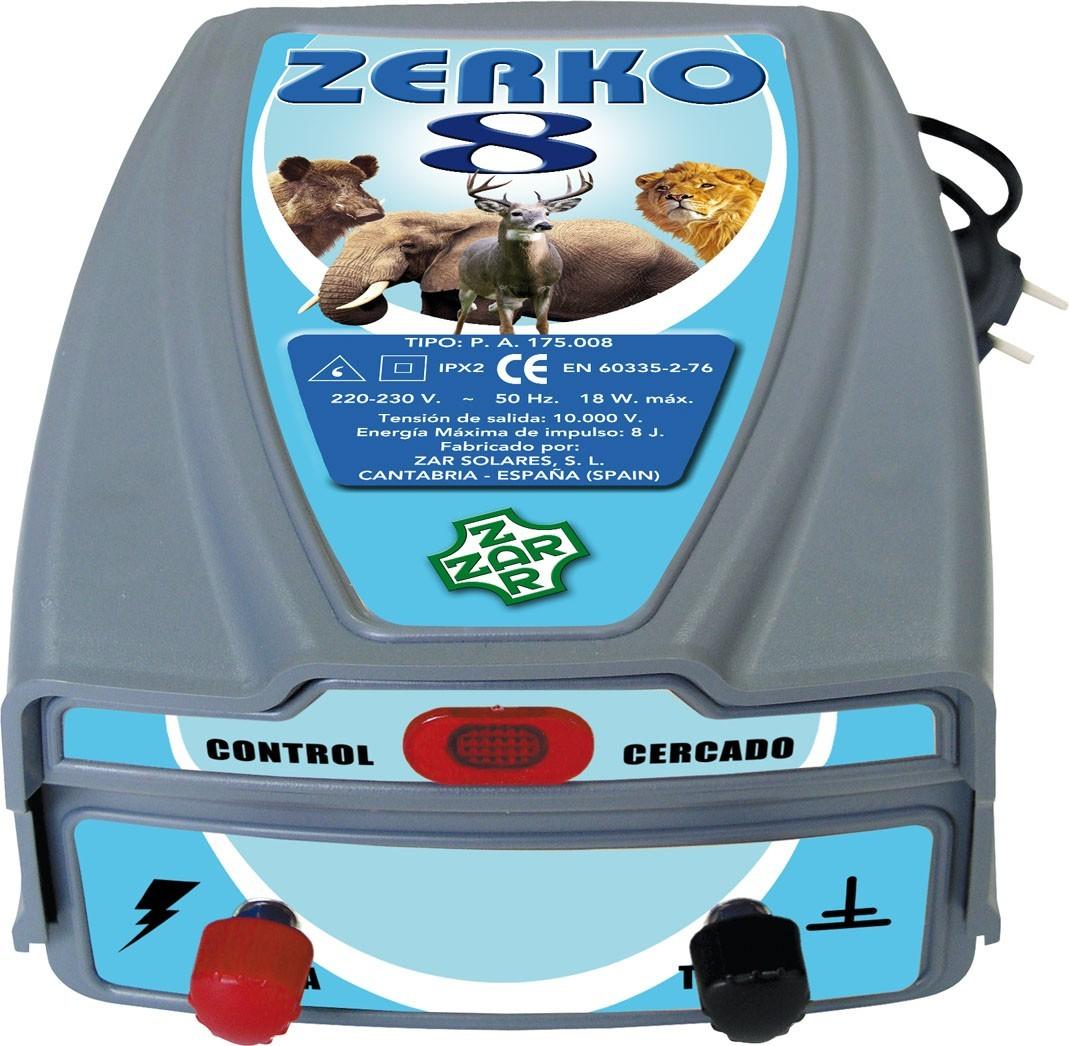 Pastor eléctrico Zerko-Red 8 J.