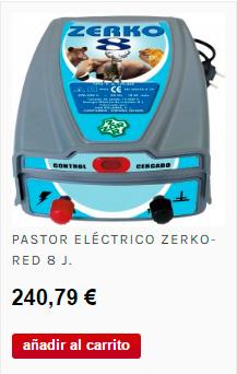 Pastor eléctrico para perros, gatos, conejos... todas las