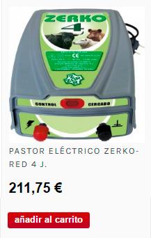 Pastor eléctrico Zerko para animales de gran tamaño