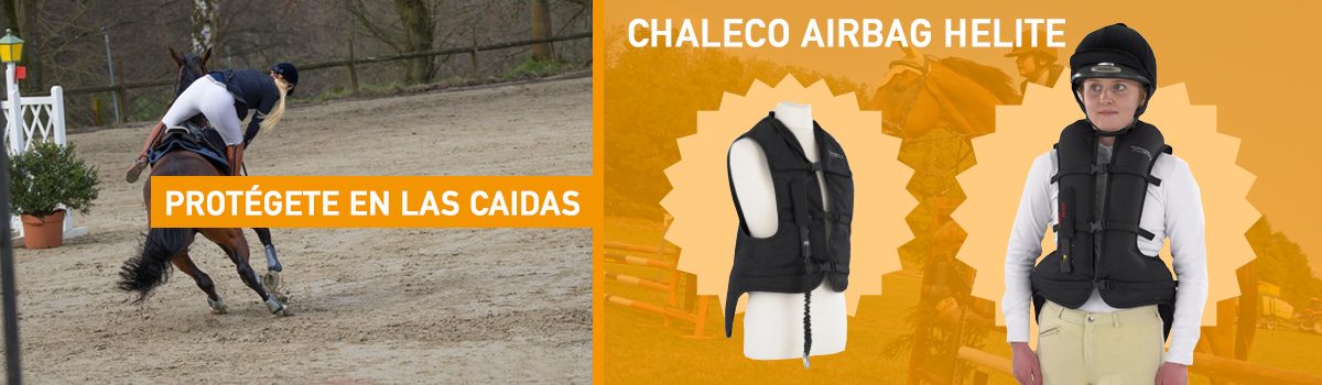 Nuevo Chaleco Airbag Helite