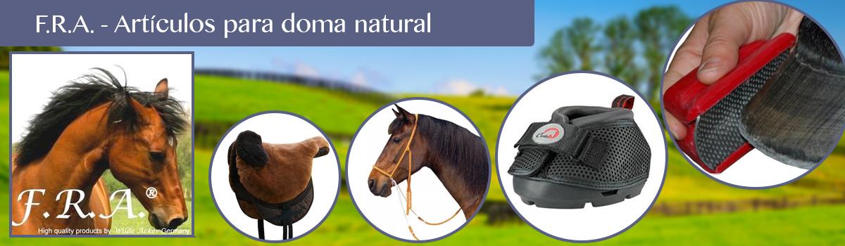 Productos de doma natural